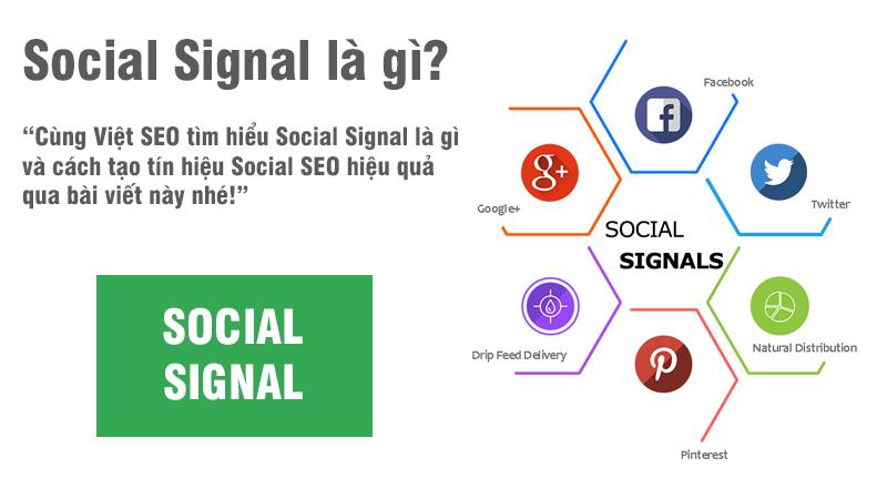Social Signal là gì và cách tạo tín hiệu Social SEO hiệu quả?