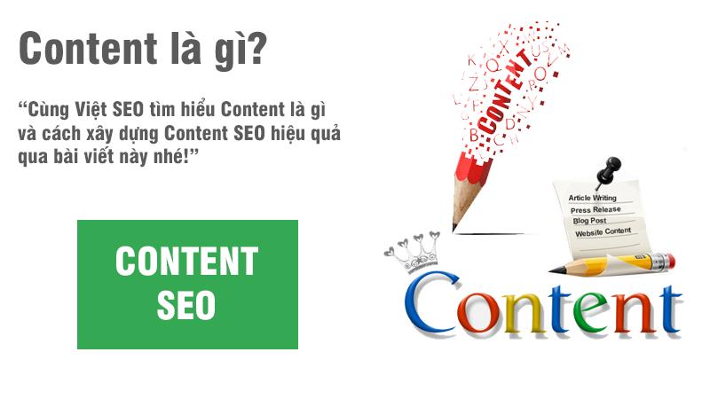 Content là gì và cách xây dựng Content SEO hiệu quả?
