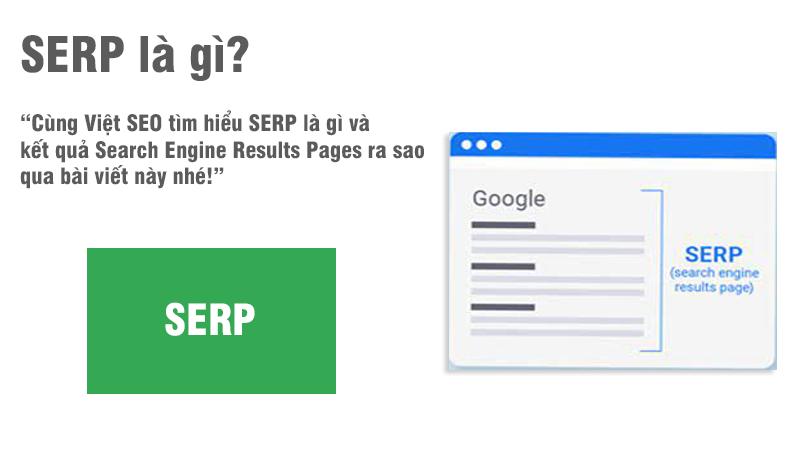 SERP là gì và kết quả Search Engine Results Pages ra sao?