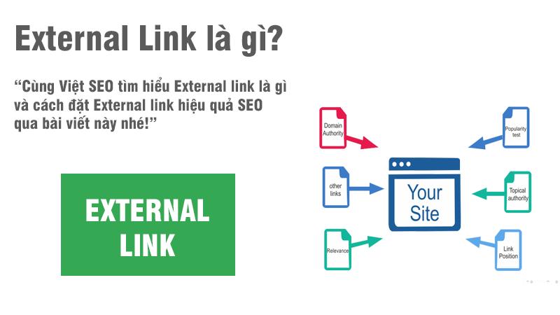 External link là gì và cách đặt External link hiệu quả SEO?
