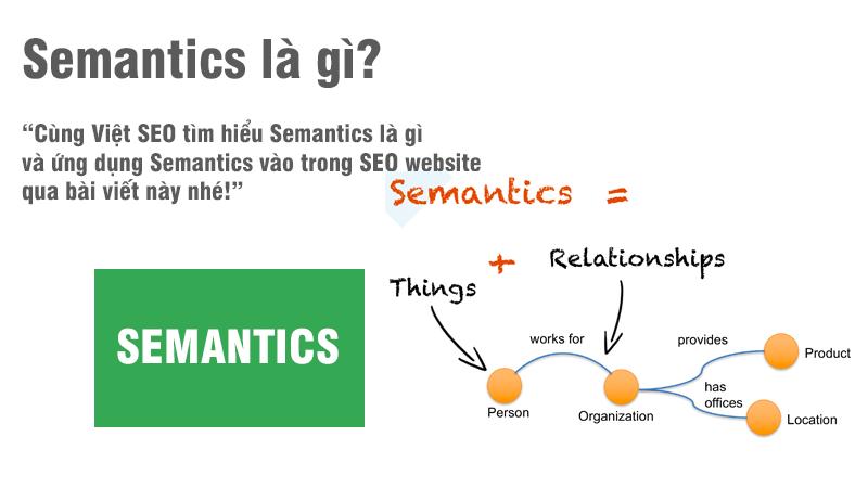 Semantics là gì và ứng dụng Semantics vào trong SEO website?